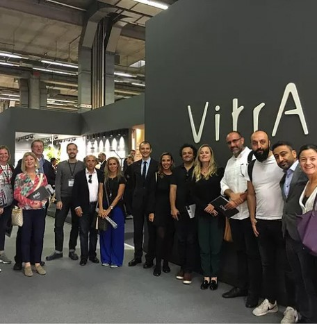 Cersaie Fair with Vitra
